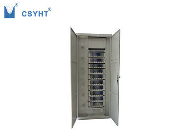 2200mm Fiber Optic Cabinet 19 Inch Rack Load ODF For Fiber Distribution