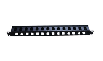 19 Inch Rack Mounted Cold Roll Steel Fiber Optic Patch Panel